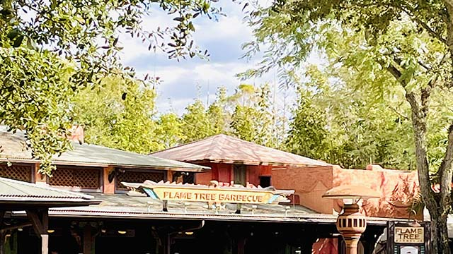 Flame Tree Barbecue Review - Animal Kingdom's Hidden Oasis
