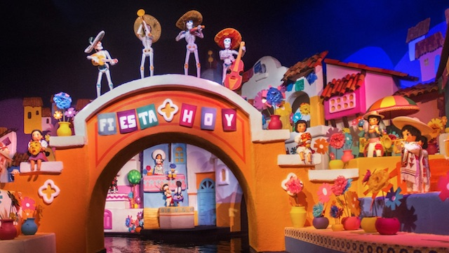 How long will the animatronics be missing from Gran Fiesta Tour?