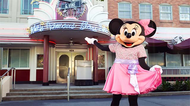 Minnie's Silver Screen Dining Review at Hollywood and Vine
