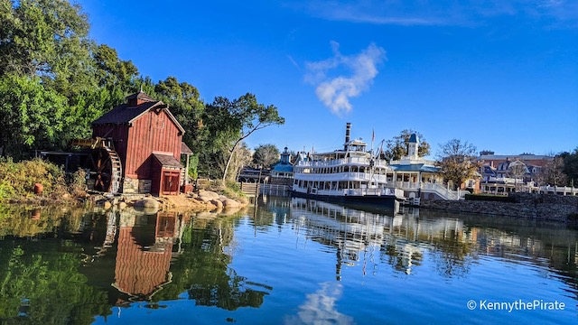 Photos and Video of the Return of Liberty Square Riverboat and Tom Sawyer Rafts!