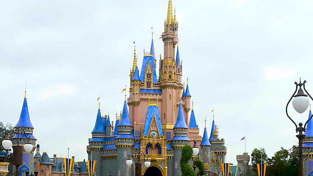 Part of Cinderella Castle is Now Closed Off for a Possible Refurbishment