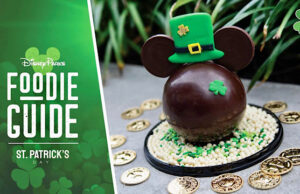 Disney Parks lucky new Saint Patrick's Day Foodie Guide