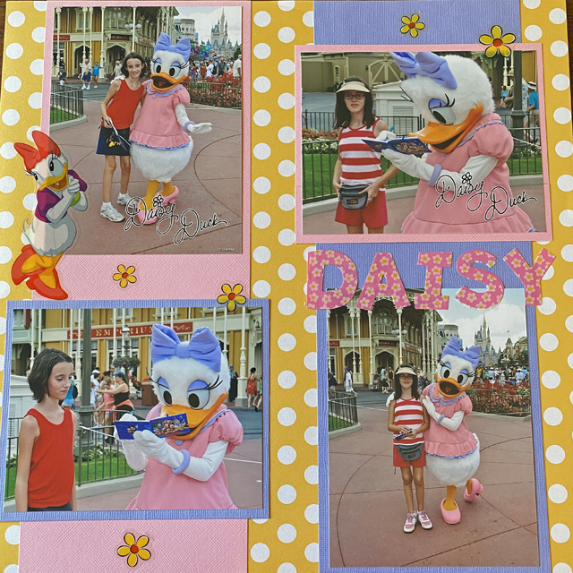 Everything You Need to Create a New Disney Themed Scrapbook