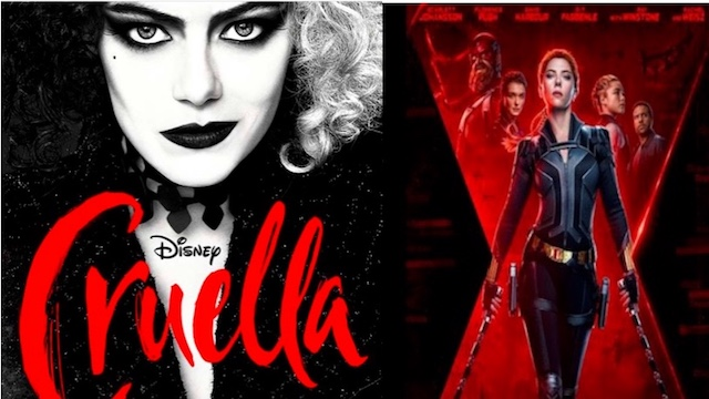 Disney Releases New Info on Black Widow and Cruella Releases!