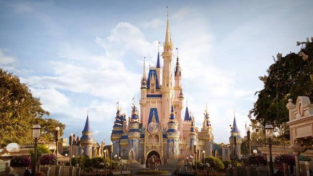 Disney shares first look of magical 50th Anniversary Cinderella Castle decorations