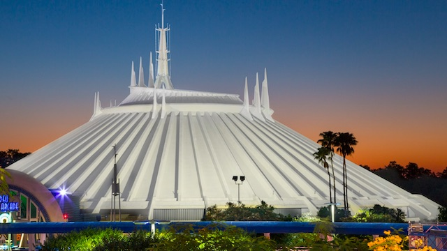 Video: Ride Space Mountain with the Lights ON at Magic Kingdom
