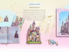 We now have a release date for the next series of the Disney castle collection!