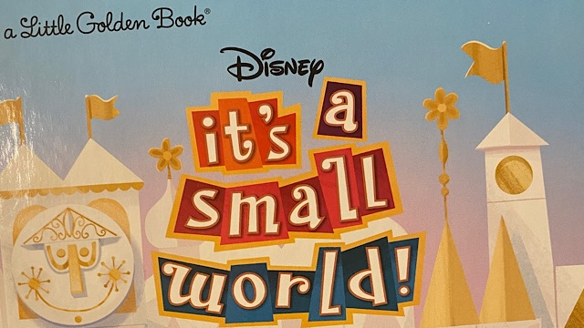 Take a Peek Inside the New Little Golden Book for it's a small world