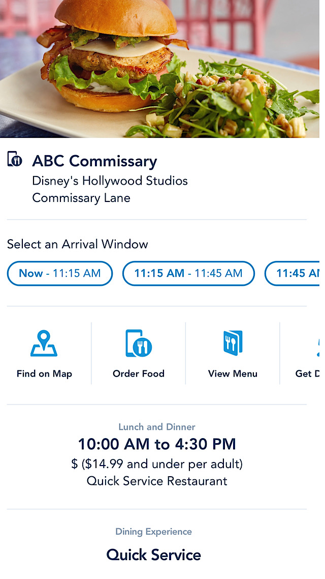 ABC Commissary mobile ordering