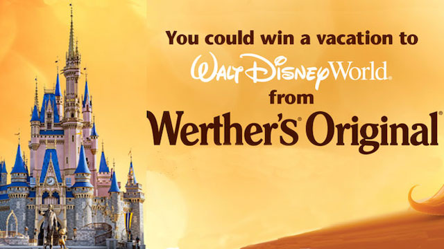 Now You Can Win a Trip to Walt Disney World Simply by Enjoying Candy
