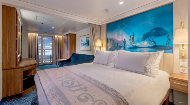 Stunning Staterooms and Royal Suites Aboard The Disney Wish Revealed