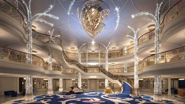Disney Cruise Line Reveals an Enchanting New Design for the Disney Wish