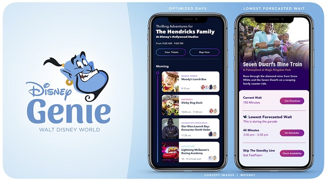 Latest Update on Disney's Genie Planning App