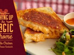 Disney shares recipe for Buffalo Chicken Grilled Cheese Sandwich