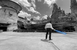 Disney Has Created and Shared a Real Star Wars Lightsaber