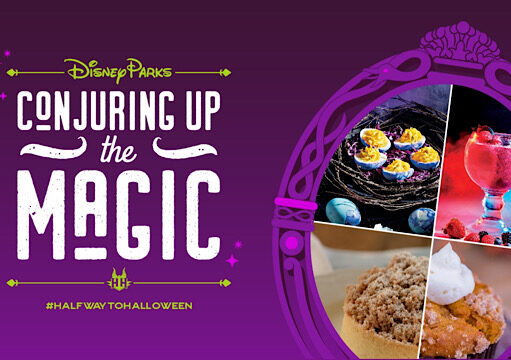 Celebrate Disney's Halfway to Halloween with New Spooky Treats and Cookbook
