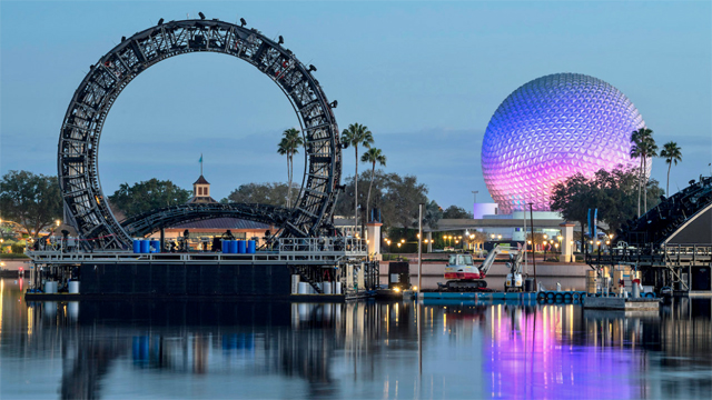 New Testing of the Newest Nighttime Show at Disney World