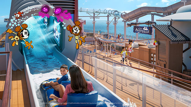 Disney Shares New Details for AquaMouse on Disney's Wish