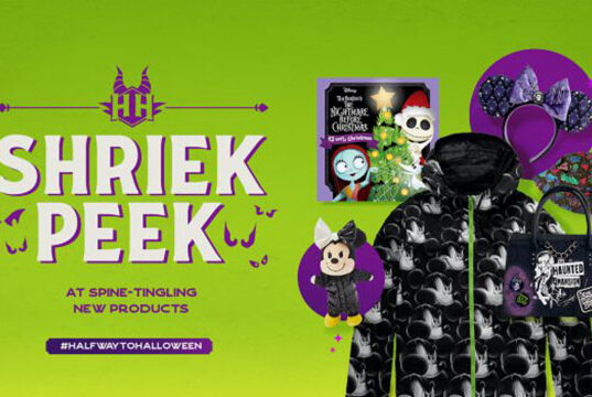 Check out all of the Spooky New Halloween Merchandise for Disney's Halfway to Halloween