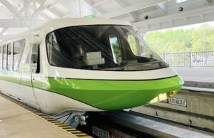 Breaking: Accident Involving Vehicle and Monorail Track at Disney World