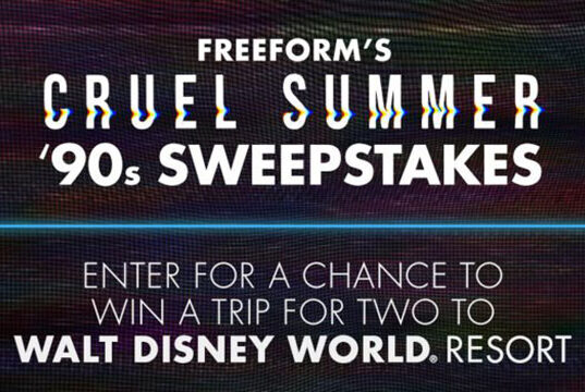 Enter this new sweepstakes to win a trip to Walt Disney World