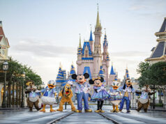 New golden character sculptures to debut for Walt Disney World's 50th Anniversary