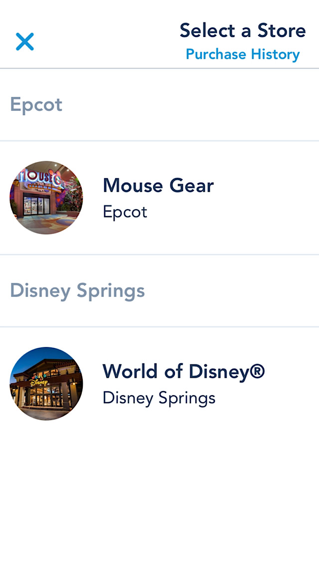 Mobile Checkout added to new store at Disney Springs