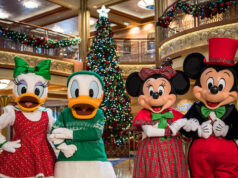 Check out the New Dates: Holiday Magic returns to the Disney Cruise Line