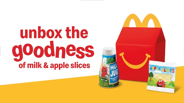 A New Reason to get Happy Over a Happy Meal