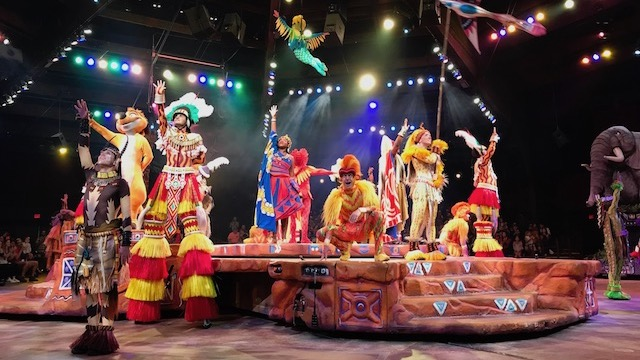 New Showtimes for Festival of the Lion King