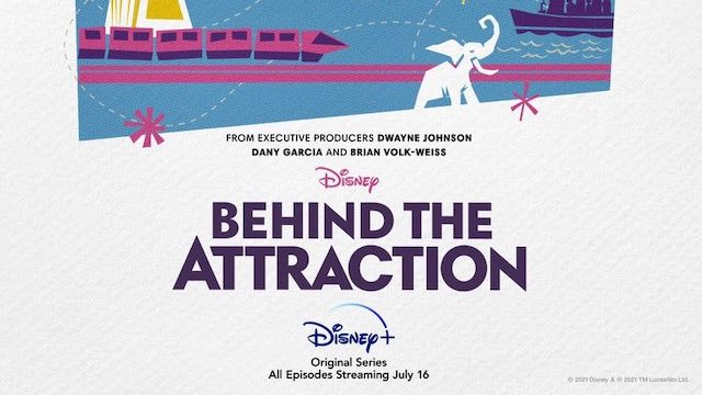 Full Lineup of Attractions Featured on Behind the Attraction Docuseries