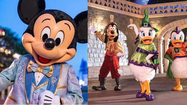 How will Disney decorate for both the 50th anniversary and Boo Bash?