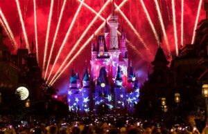 How will fireworks be incorporated into special events at Disney World?