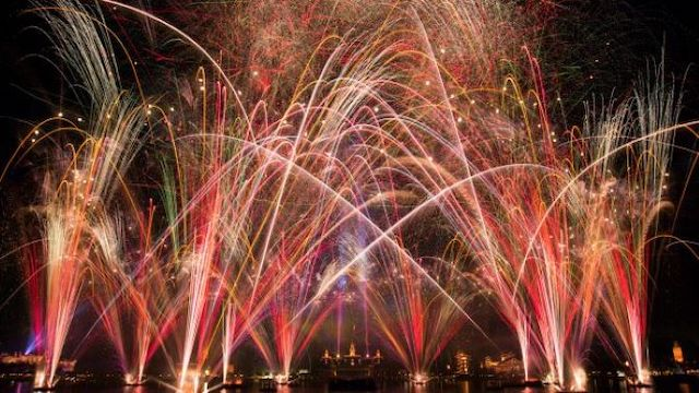 Huge Fireworks Show Blasted Over Epcot Overnight
