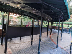 Plexiglass is Removed from Various Spots Around Disney World!