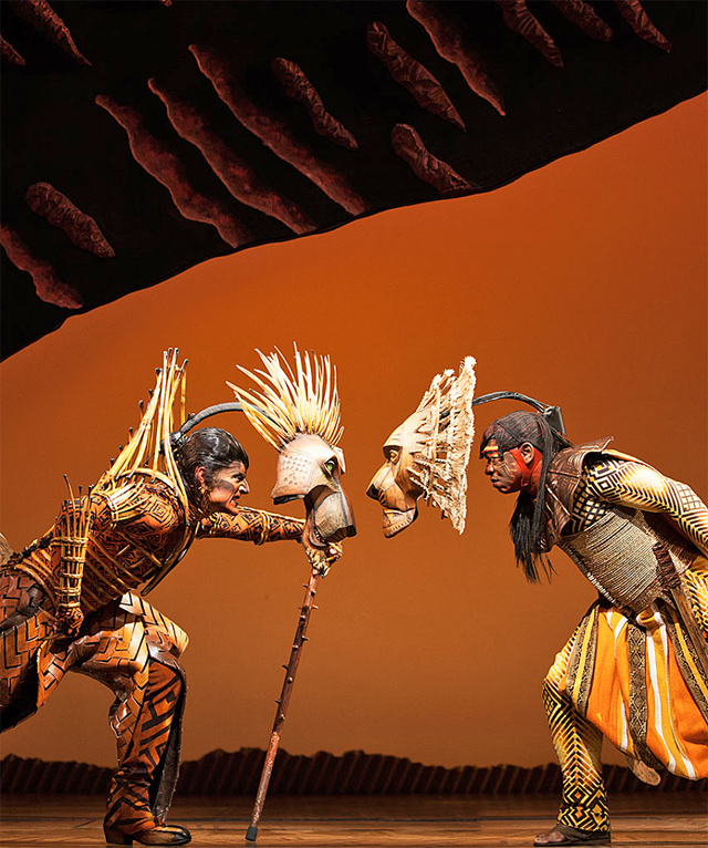 The Lion King Broadway Musical's Circle of Life is Amazing