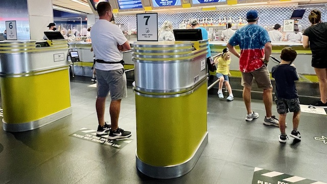 New Physical Distancing Changes for Disney World Dining and Merchandise Locations