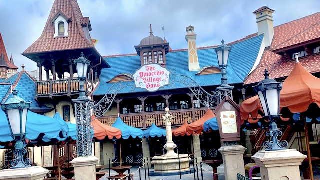 Outdoor dining changes are now underway at Disney World
