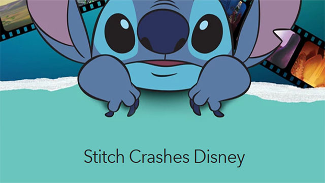 Check out the rest of the Stitch Crashes Disney Collection