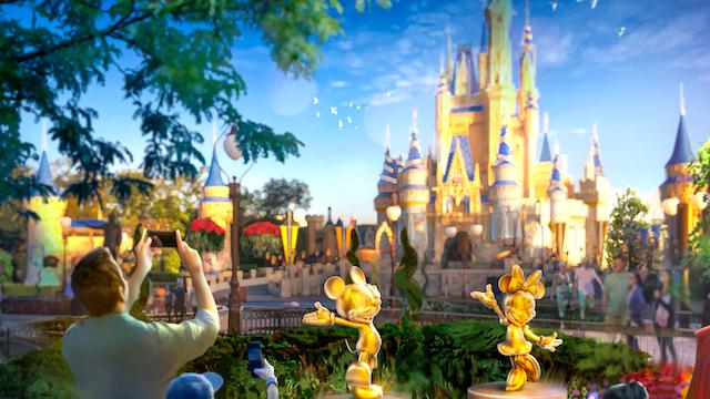 'Disney Fab 50' Character Sculptures at Walt Disney World Resort