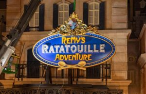 Special Preview for Remy's Ratatouille Adventure