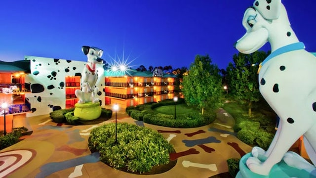 New Refurbishment Scheduled for Disney World's All Star Movies