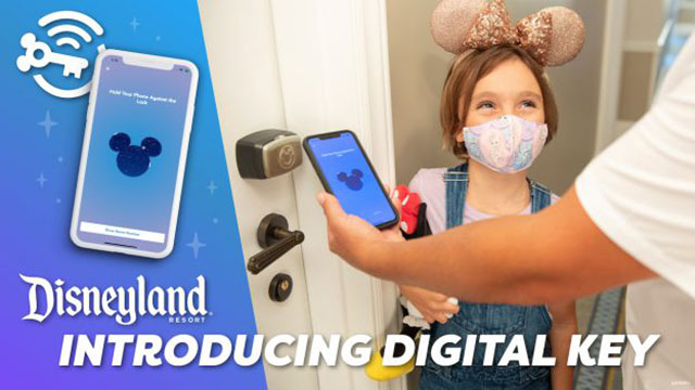 Disneyland Resort App receives new update and introduces new digital key