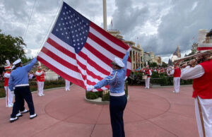 Flag Ceremonies are Back at Disney World and Disneyland