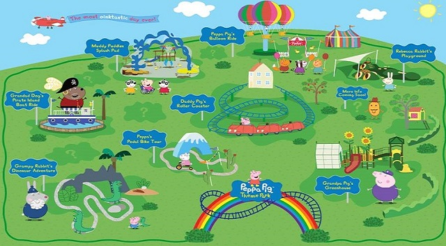 The World's First Peppa Pig World Attractions and Rides Revealed!