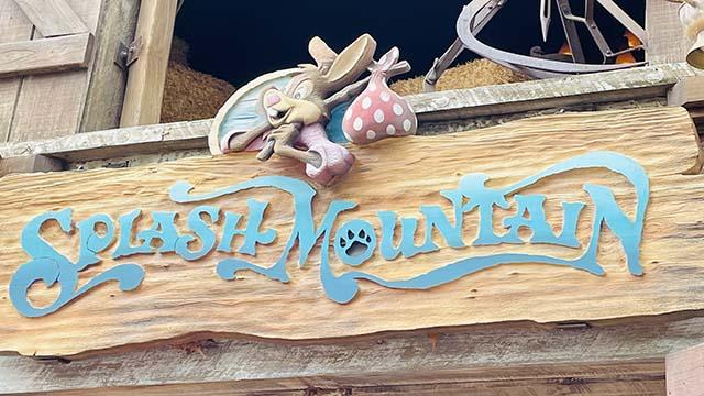 Disney Removes Some Splash Mountain Elements from Magic Kingdom