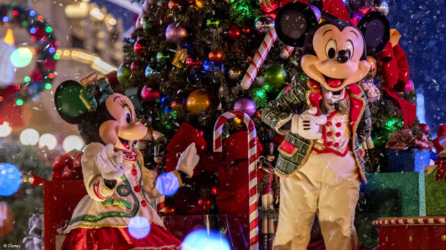 Breaking: Parades and Fireworks are coming to Disney this Christmas with very high pricing