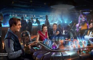 Dining options for Star Wars: Galactic Starcruiser Adventures