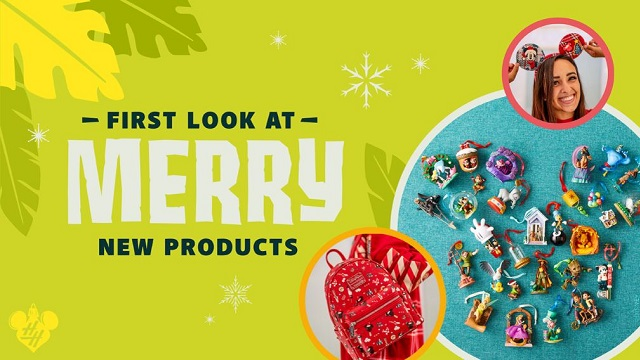 Have You Seen Disney's New Christmas Merch?
