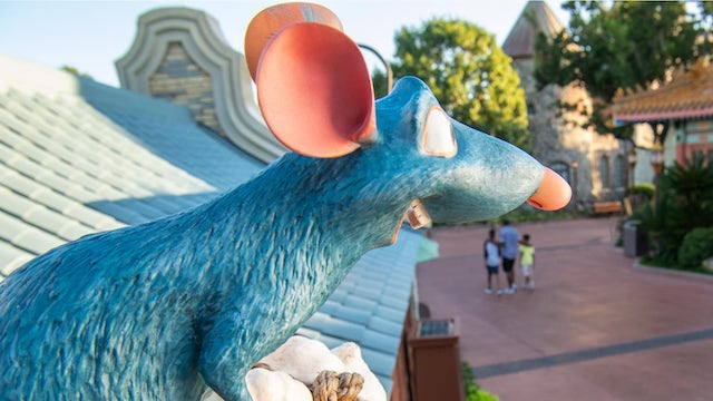 Remy's Ratatouille Adventure Cast Members can now be spotted